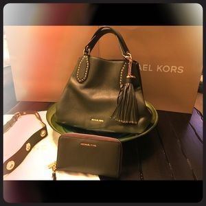 MK Shoulder Handbag & Wallet